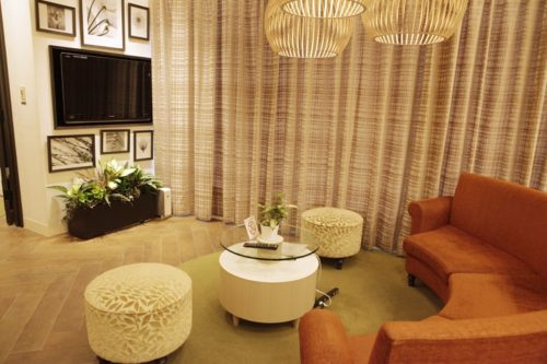 Switch Loungeの癒し空間