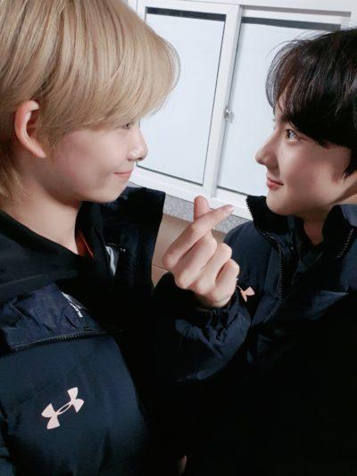 ジョンウォンとニキ仲良し画像⑦