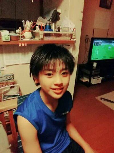 小学3年生の前川佑