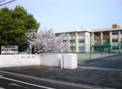 ニキの姉西村心暖の中学校