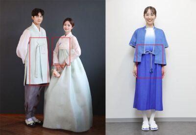 東京オリンピックのボランティア衣装と韓国の民族衣装チョゴリ②