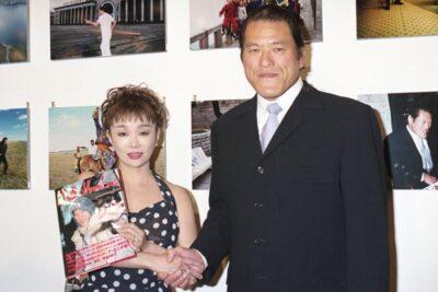 アントニオ猪木と橋本田鶴子さん