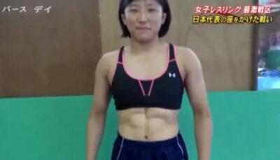 須崎優衣の腹筋①