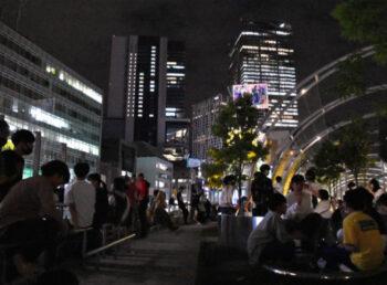 渋谷区立宮下公園で路上飲みが横行