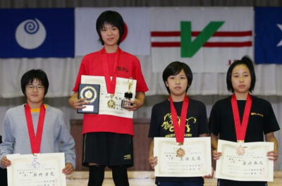 須崎優衣の姉・麻衣がレスリング大会で3位③