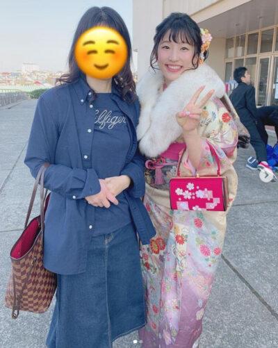 須崎優衣のかわいい振袖姿③