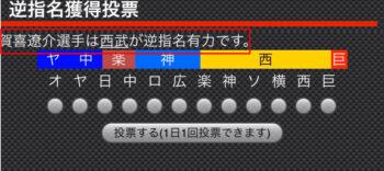 賀喜遥香の弟は逆指名投票