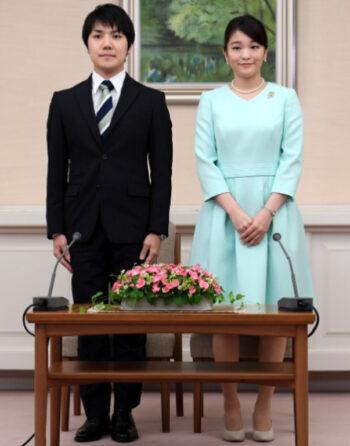 小室圭、眞子様の婚約内定発表