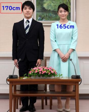 婚約内定会見の眞子様と小室圭4